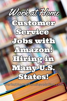 Amazon is hiring work at home customer service reps in many U.S. states! These are seasonal work from home position. $10 per hour plus bonuses and discount. This is an awesome home-based job opportunity. You can make money from home!