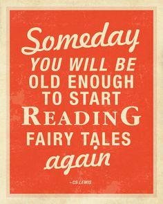"Tolkien agreed -- his wonderful essay ""On Fairy Stories"""