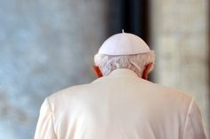 Benedict XVI and the Vatican left on his last day as Pope. (AFP)
