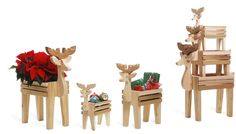 3pc. Deer Family Outdoor Decor Set