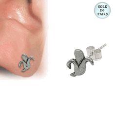 www.bodyjewelry.com #banana #earstud #earring #bodyjewelry #piercingjewelry #piercings