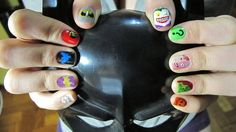 Not that I would ever get THIS crazy with my nails...but I appreciate the effort.  Amazing detail!