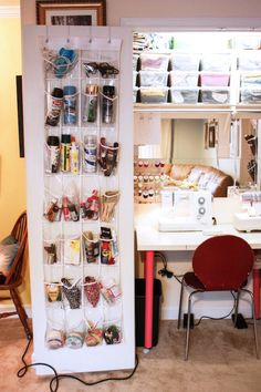 On Pinterest Sewing Rooms Sewing Spaces And Sewing Studio