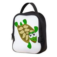 #Turtle Neoprene #Lunch #Bag