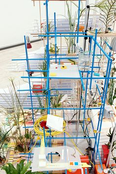 'Fixed Points Finding a Home,' Sarah Sze, 2012