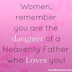 Daughters of a Heavenly Father...