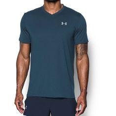 Under Armour Men's Threadborne Streaker Run V Neck T Shirt