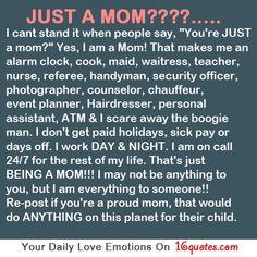 """Just a mom? Mucho más que """"just""""..."""