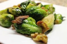 A great recipe for brussels sprouts with bacon and walnuts adapted from Edible Harmony - Paleo recipes and tips from On Diet and Health