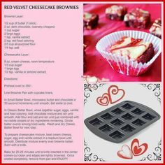Another easy brownie recipe made in the Pampered Chef brownie pan. Pampered Chef Desserts, Pampered Chef Party, Pampered Chef Products, Baking Recipes, Dessert Recipes, Trifle Desserts, Mini Desserts, Baking Ideas, Yummy Recipes