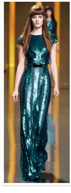 Ann Taylor's Emerald green gown!