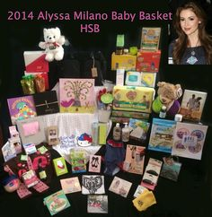 """Alyssa Milano's new baby gets """"gifted"""" by Hollywood Swag Bag"""