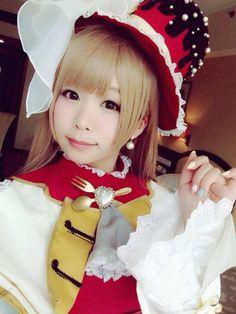 RT @itsuki_akira: 今日の広州のイベントではラブライブ・スクフェス2月のバレンタインverのことりちゅんのコスプレしてました(・8・) #ラブライブ #lovelive http://flip.it/gawKI