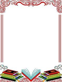 Albumarchívum Boarder Designs, Page Borders Design, Borders For Paper, Borders And Frames, Borders Free, School Border, Book And Frame, School Frame, Renz