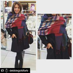 Personal style. Personal shopper. Pashmina escocesa tendencia inv15