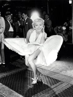 Marilyn Monroe (1926-1962), foto de Sam Shaw