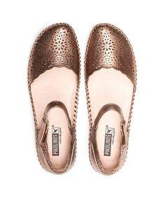 96de2d51d555 Women`s Leather Shoes P. VALLARTA 655-1572CL