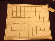 Lenormand embroidered Grand Tableau cloth.