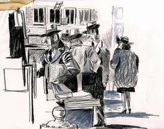 CHRIS SASAKI 10 вдохновляющих скетчбуков. Рисовальщики, за которыми стоит следить. - Дневник человека, который рисует каракули
