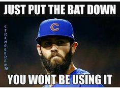 Yup!                                                                                                                                                      More Chicago Cubs Fans, Chicago Cubs World Series, Chicago Cubs Baseball, Chicago Bears, Baseball Memes, Baseball Stuff, World Series Winners, Bear Cubs, Grizzly Bears