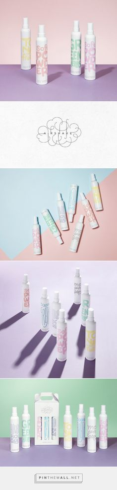 Airshake fabric refresher by Eulie Lee / De Yool Studio (디율). Source: Daily Package Design Inspiration. Pin curated by #SFields99 #packaging #design #inspiration #ideas #branding #product #household