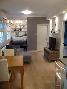 Open Living Space, Dining, Living and additional alcove space Furnished with 3…
