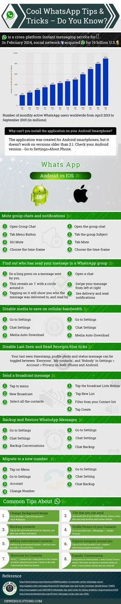 Here We Are sharing top searched best WhatsApp tips and tricks for 2017 .These are the best WhatsApp secret tricks available over internet .In this best WhatsApp tips and tricks tutorial ,You will learn how to use WhatsApp international numbers, who viewed my WhatsApp profile and lot of more things like :How to spy your girl friends/boy friends WhatsApp [ spy WhatsApp techniques] Saving mobile data using WhatsApp.