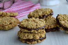 TynaTyna: Ovesné sušenky Krispie Treats, Rice Krispies, Healthy Baking, Food And Drink, Cookies, Chocolate, Desserts, Diet, Crack Crackers