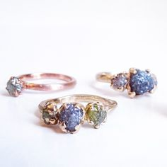 Handcrafted, ready to ship gorgeous engagement rings.