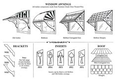 17 Best images about AWNING on Pinterest | Pvc pipes, Window ...