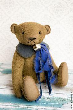 Купить Гриша - коричневый, мишки тедди, мишка, тедди, теддик, медвежонок, игрушка ручной работы