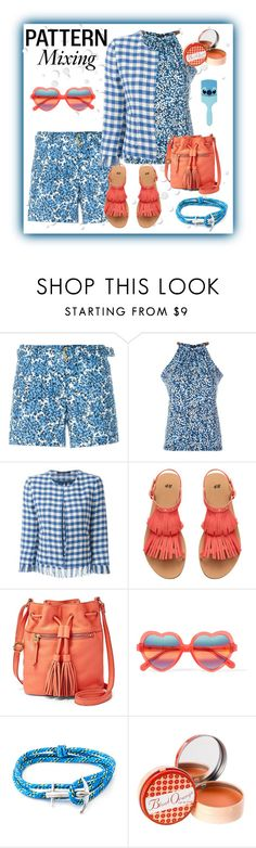 """""""Pattern Mixing"""" by signa2000 ❤ liked on Polyvore featuring MICHAEL Michael Kors, Tagliatore, FOSSIL, Cutler and Gross, Anchor & Crew, Soap & Paper Factory, Disney and patternmixing"""