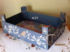 Manualidades con cajas de fruta | Aprender manualidades es facilisimo.com