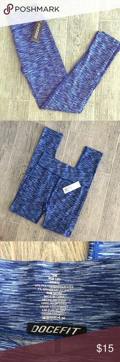 NWT space dye leggings Super stretchy.      Q4 Docefit Pants Leggings