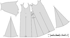 Patterns of extant garments - Undergowns, Herjolfsnes no.43