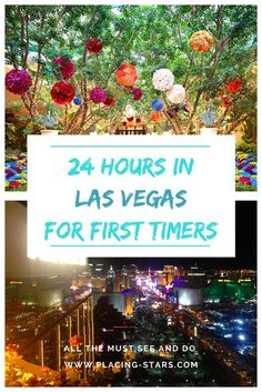 Las Vegas is filled with fun activities, beautiful shows, crazy experiences and yummy food! In this article, I'll lead you through everything to do in Vegas in only 24 hours! From the Bellagio fountains to the best roof-top in the city, you'll get to see it all. #TravelDestinationsUsaLasVegas