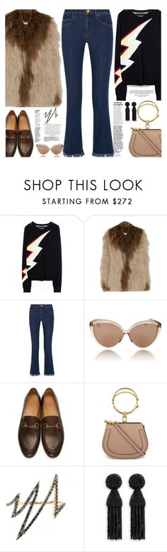 """Snuggle Up: Teddy Bear Coats..."" by unamiradaatuarmario ❤ liked on Polyvore featuring Zadig & Voltaire, Saks Potts, Sonia Rykiel, Linda Farrow, Gucci, Chloé, Talia Naomi, Oscar de la Renta and teddybearcoats"