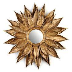 "Kirkland's: Golden Rosette Mirror, 27.5"" $59.00 way less than the Horchow version!"