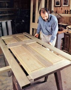 #2634 Making Wooden Doors - Door Construction