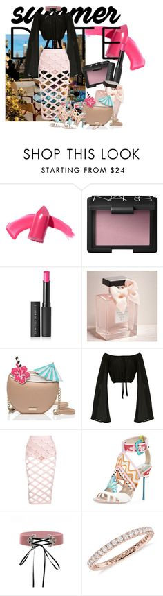 Tropical Love by ardhinach on Polyvore featuring Posh Girl, Kate Spade, Blue Nile, Elizabeth Arden, NARS Cosmetics, Le Métier de Beauté, Abercrombie & Fitch, summerdate and rooftopbar