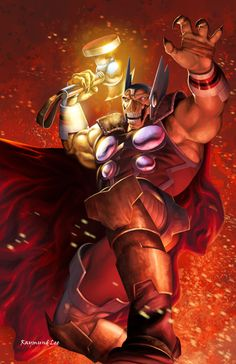 Beta Ray Bill - Storm's End | raymundlee on DeviantArt