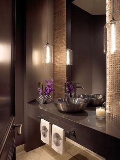 Bath by Allen Saunders, Inc. http://www.houzz.com/photos/2276615/Addison-Reserve-1-Delray-Beach-FL-Residence-contemporary-powder-room-miami