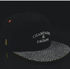 Add the #HighSwag Champagne  Jordan's  Snapback to your collection now www.houseoftreli.com