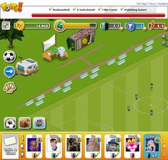 Footy! Facebook Game on Behance