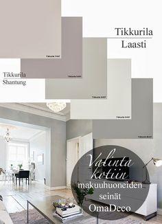 OmaDeco by J: Tikkurilaa makuuhuoneen seiniin Boho Bedroom Decor, Bedroom Colors, Home Bedroom, Wall Colors, House Colors, Colours, House Color Palettes, Hotel Room Design, Paint Colors For Home