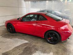 Fantastic red n black combo Alfa Gtv, Alfa Romeo Gtv, Car In The World, Car Ins, Spider, Red, Black, Autos, Spiders