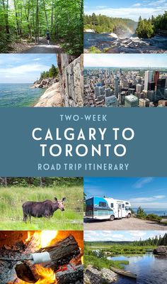 A road trip across the heart of Canada the ultimate two-week Calgary to Toronto road trip itinerary with what to see do and where to stay along the way Places To Travel, Places To See, Travel Destinations, Family Road Trips, Family Travel, Calgary, Canadian Travel, Visit Canada, Road Trip Essentials