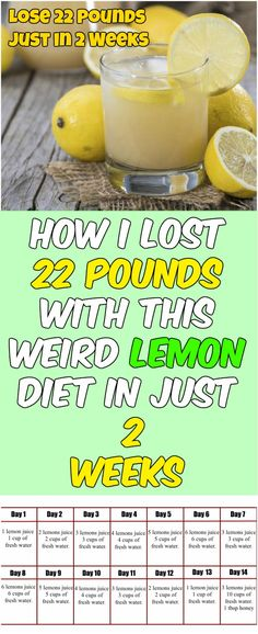If you are constantly struggling to lose weight, then, you know that there are numerous diets that promise a lot, but only a few of them really bring some results. #loseweight #diet #health #lemonDiet