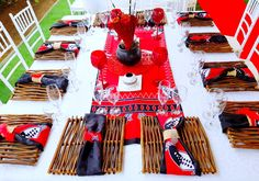 Red Amp Black Swazi Traditional Wedding Decor At Shonga Events