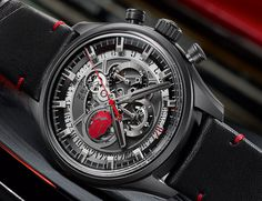 """Zenith El Primero Skeleton Tribute To The Rolling Stones Watch - by Zen Love - Start it up! More on this raucous tribute to the Stones at: aBlogtoWatch.com """"The latest in Zenith's ongoing series celebrating the still ongoing 'World's Greatest Rock 'n' Roll Band' is the Zenith El Primero Skeleton Tribute To The Rolling Stones watch."""